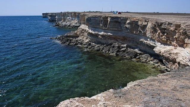 Западное побережье Крыма
