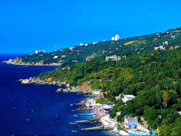 Курорты Крыма и его достопримечательности